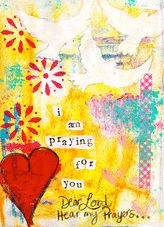 Inspirational + Get Well - Kathleen Tennant Mixed Media Art