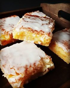 Pyszne ciasto cytrynowe nasze ulubione cake ciasto baking blog polishgirlhellip Polish Desserts, No Bake Desserts, Delicious Desserts, Yummy Food, Pie Recipes, Sweet Recipes, Dessert Recipes, Cooking Recipes, Vegan Sweets