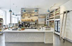 Located at 974 Palmer Alley in CityCenterDC, Centrolina is dual-concept market and osteria that blends a casual California aesthetic with the sensibility o
