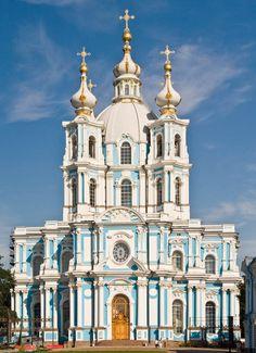 Smolny Convent, St. Petersburg. Russia. 1748—1764