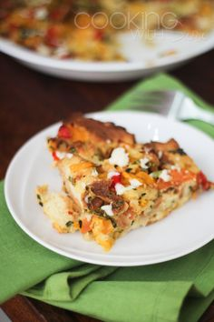 Cooking With Siri | Recipes, Reviews and Reflections.: Savory Vegetable Bread Pudding - a Step by Step Recipe