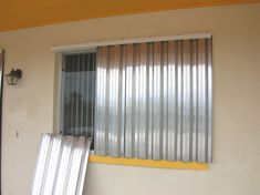 Hurricane Shutter Storage Emergency Pinterest