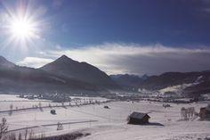 herrlich winterlich - der 5.1.2016 in Flachau #flachau