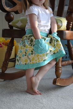easy tutorial, love those and love skirts for my little girl!