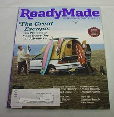 Ready Made Magazine Home Crafts DIY Decoration Art Garden Recipe Paper Free Ship