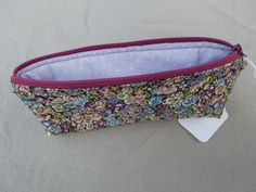 """Pencil Case - Liberty Fabric - """"Chives"""""""