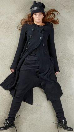 rundholz dip - Hose Cashmere Mix black - Winter 2015 - stilecht - mode für frauen mit format...