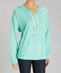 Look at this Mint Hoodie on #zulily today!