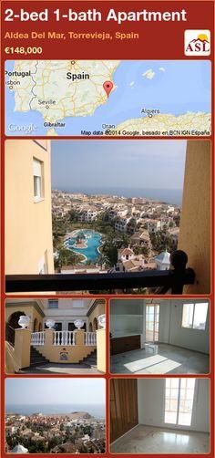 2-bed 1-bath Apartment in Aldea Del Mar, Torrevieja, Spain ►€148,000 #PropertyForSaleInSpain