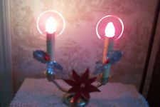 Vintage Noma Halo Candolier Electric Candle Holder Christmas Lights Vintage Christmas Lights, Halo, Candle Holders, Electric, Table Lamp, Candles, Home Decor, Table Lamps, Decoration Home