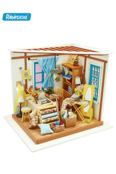 DIY Handcraft Miniature Project Dolls House My Little Kittens/' Birthday Cake