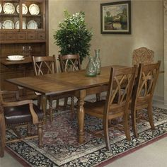 Monastery Refectory Table by Intercon   Wolf Furniture