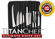 TitanChef Ultimate Knife Set