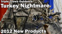 The new Turkey Nightmare hunting blind from Triple Crown Outdoors weighs a mere 8 ounces and attaches to your bow to provide concealment while hunting. This product is great for hunting all types of game including turkey, deer, elk and more. News Turkey, Bow Accessories, Hunting Blinds, Bow Hunting, Elk, Outdoors, Bows, Game, Moose