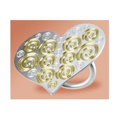 """Endless Love A pendant in silver and gold for eternal love """"Endless Love"""", our new exclusive creation in pure 925 º silver and gold, including a stunning pendant and a ring dedicated to those who believe that tomorrow they will love"""