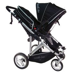 Stroll-Air travel gear at Kohls.com - Shop for more travel accessories, like this Stroll-Air My Duo Double Twin Stroller, at Kohls.com. Model no. SM54432B