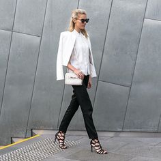 Smart casual styling for hump day  wearing @saintjeromestore  @ninewestaus @coach accessories  by thetrendspotter