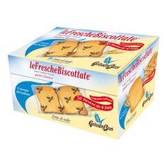 3) Fette biscottare 810 g Grissinbon