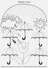 Spring rain ☔️ rainbow tracing page Tracing Worksheets, Kindergarten Worksheets, Worksheets For Kids, In Kindergarten, Preschool Activities, April Preschool, Preschool Writing, Pre Writing, Writing Skills