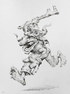 Goblin engineer by firatsolhan on DeviantArt
