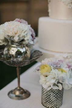 Pink Wedding | Mercury Vase | Peonies | Metallic | Chicago Wedding