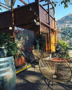 "mb68 su Instagram: ""#anticaosteriadelporto #anticaosteriadelportolugano #lugano #saturdaymorning #luganolake #longlake #cofee #cofeetime #ticino #svizzera…"" Lugano, Coffee Time, Outdoor Furniture, Outdoor Decor, Hammock, Switzerland, Instagram, Home Decor, Decoration Home"