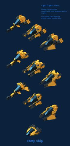 concept ships: Spaceships from Tannhauser Gates