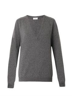 V-neck cashmere sweater | Saint Laurent | MATCHESFASHION.COM