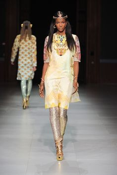 Manish Arora Spring '13 wow these clothes set her on fire she looks like a queen.