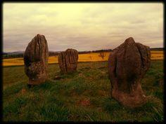 Duddo Stone Circle in Northumberland, England