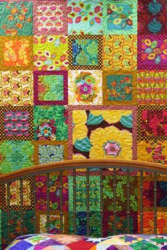 To do: with Kaffe Fassett fabrics