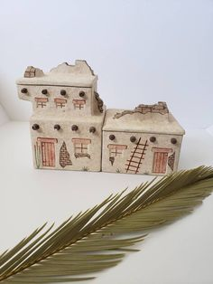 Pottery Pueblo Casita Casa Canisters, Southwest Style Casita Kitchen Containers, Southwestern Home Decor, Kitchen Storage Southwest Style, Southwestern Home Decor, Kitchen Containers, Kitchen Canisters, Kitchen Styling, Kitchen Storage, Boho Decor, Pottery, Building