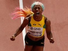 Jamaica's Shelly-Ann Fraser-Pryce ran a seconds to win the world 100 metres title at the 2019 World Championships in Doha on Sunday, S. Shelly Ann Fraser, Fashion Show Games, Latest Indian News, Dina Asher Smith, Match Score, Latest Cricket News, Fourth World, Live Matches, Sports