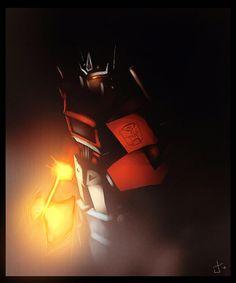 Optimus Prime by ~dcjosh on deviantART