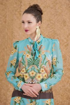 Catalina Estrada for Anunciaçao's winter 2013  collection! Available at http://www.anunciacao.com/onlinestore/