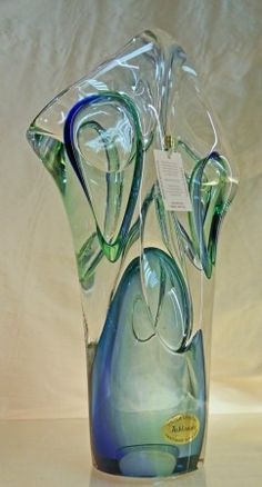 Art Glass Sculpture~ Twilight Formation