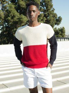 Men's American Apparel Fisherman's Sweater.