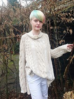 Ravelry: Boknits' Painted Sweater