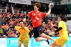 International Handball Federation  > Korea face Japan in the final of the 16th Asian Women's Championship