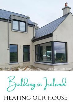 Building in Ireland means having many heating options! Find out what we've put into our home to keep us warm and comfortable, all year round. Click on the link now! Best Insulation, Escape The House, Underfloor Heating Systems, Self Build Houses, Ireland Homes, Ventilation System, Heat Pump, Water Systems