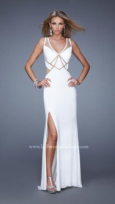 La Femme 21140 | La Femme Fashion 2014 - La Femme Prom Dresses - La Femme Cocktail Dresses
