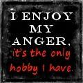 I enjoy my anger  on deviantART - Laurell K Hamilton #quotes #books #authorquotes