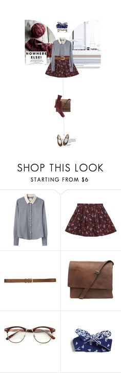 """""""Blue Sky"""" by allva ❤ liked on Polyvore featuring Band of Outsiders, Retrò and H&M"""