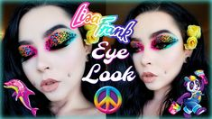 🎨Colorful Leopard Eye Makeup Tutorial