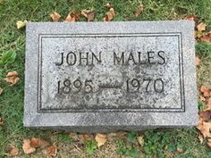 John Charles Males (1895 - 1970) - Find A Grave Memorial