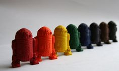 Star Wars R2D2 Mini Crayons