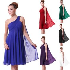 Ruffles Padded Chiffon Charming Cocktail Bridesmaid Dress 03537 super love for my bridesmaids...