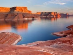 Lake Powell, my forever home (plus perfect ski water!! I'm dying to be there!)