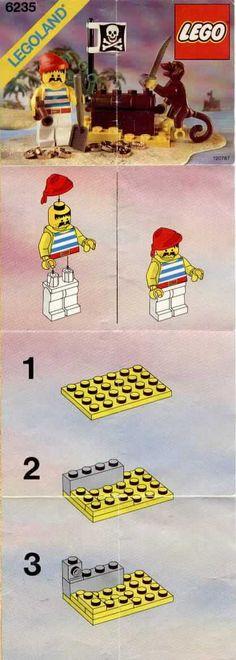 Pirates - Buried Treasure [Lego 6235]