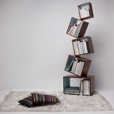 Love these book shelves!